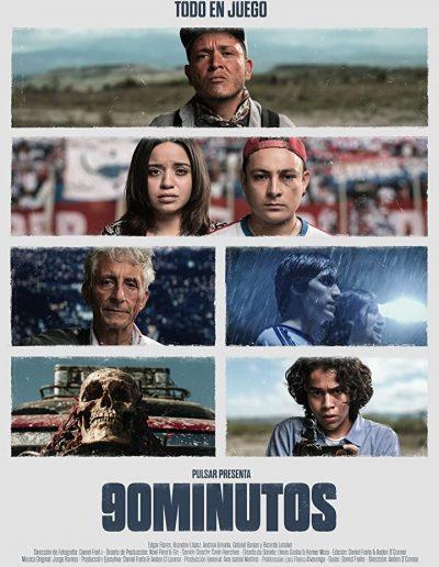 90 minutes - Aeden O'Connor Agurcia (writer, director)