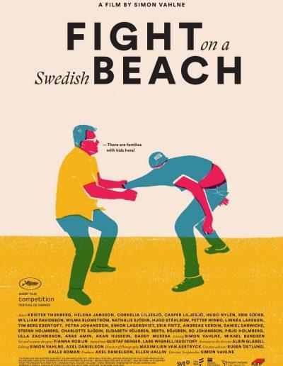 Fight on a Swedish Beach - Simon Vahlne (writer, director)