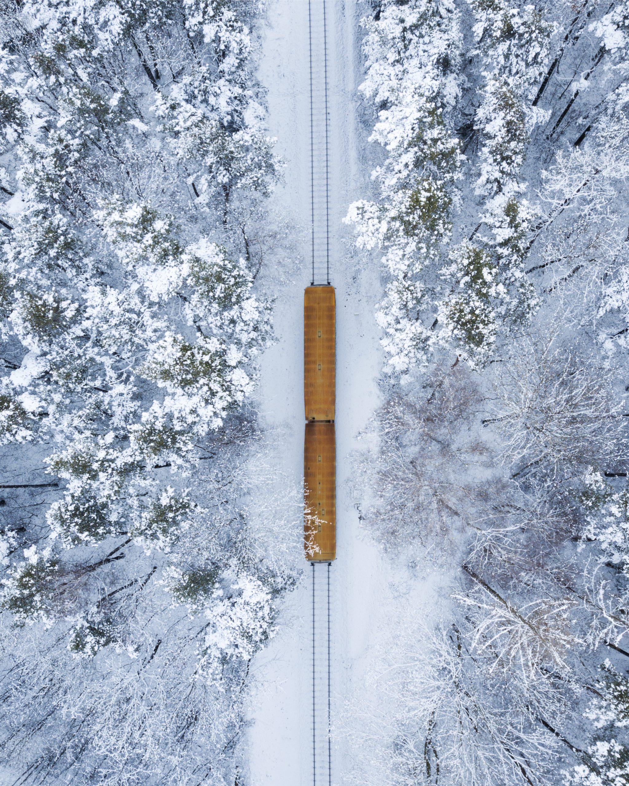 Train Czech countryside
