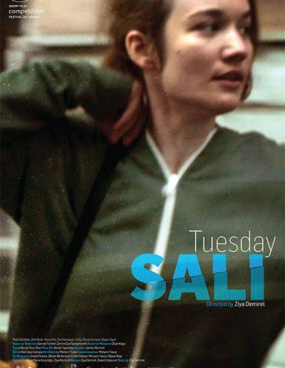 Salı - Ziya Demirel (writer, director) Melis Balaban (actress)