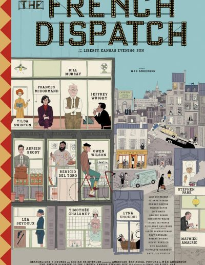 The French Dispatch - May Ziadé (producer's assistant)
